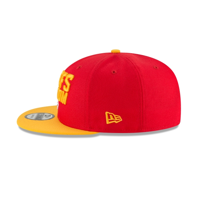 Kansas City Chiefs Draft NFL 2018 9Fifty Snapback Vista izquierda