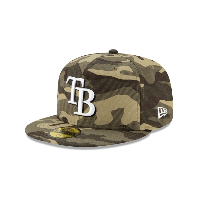 Tampa Bay Rays MLB Armed Forces 2021  59FIFTY Cerrada | Gorras de Tampa Bay Rays | New Era México