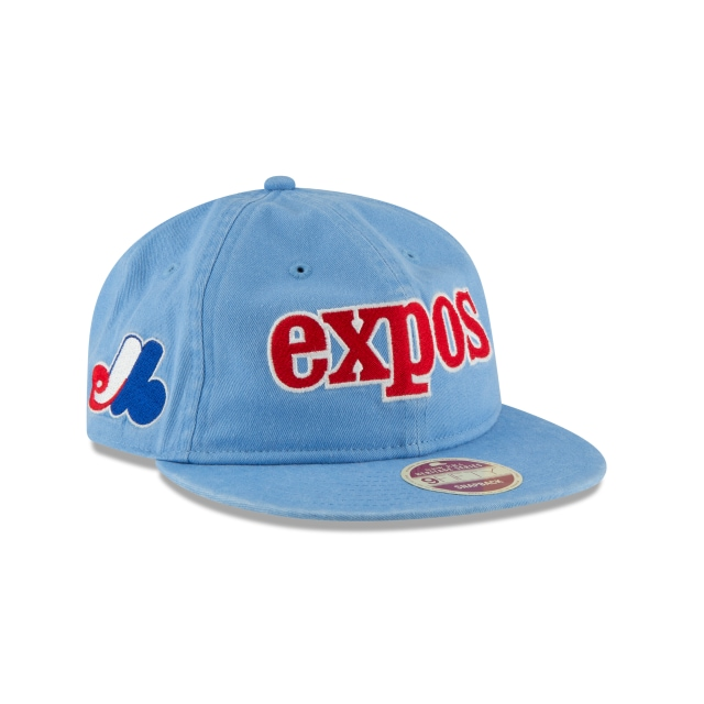 Montreal Expos Injection Pack All-Star  9Fifty LP Snapback Vista derecha tres cuartos