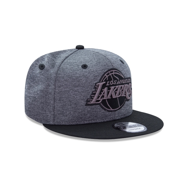 Los Angeles Lakers Basics  9Fifty Snapback Vista derecha tres cuartos