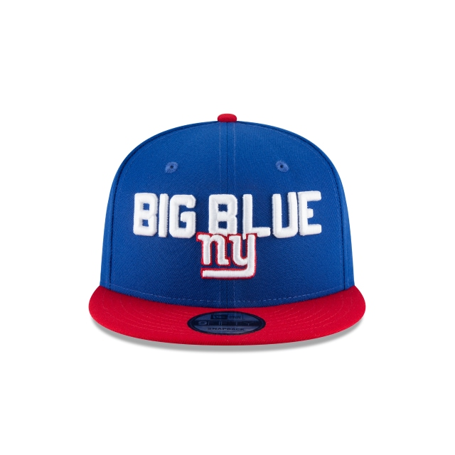 New York Giants Draft NFL 2018 9Fifty Snapback Vista frontal