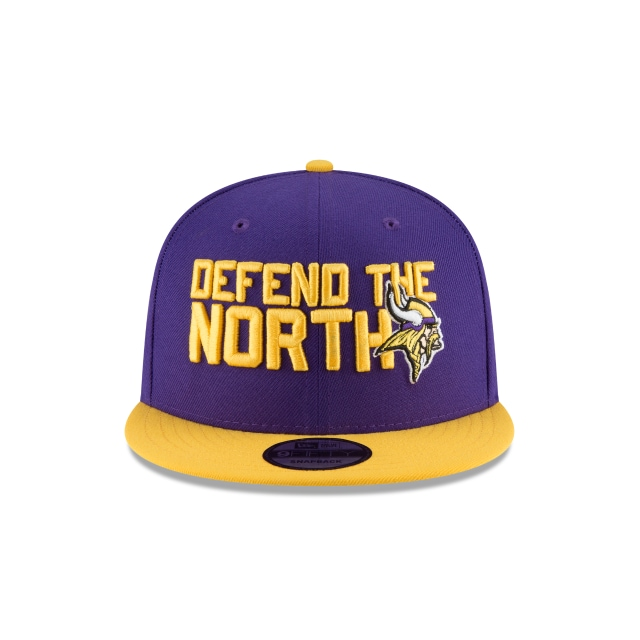 Minnesota Vikings Draft NFL 2018 9Fifty Snapback Vista frontal