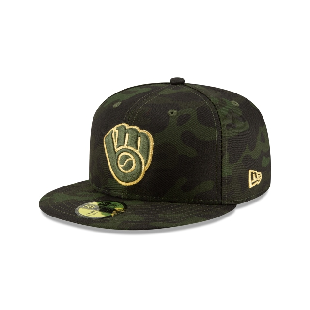 Milwaukee Brewers Mlb Armed Forces Day 2019  59fifty Cerrada | New Era Cap