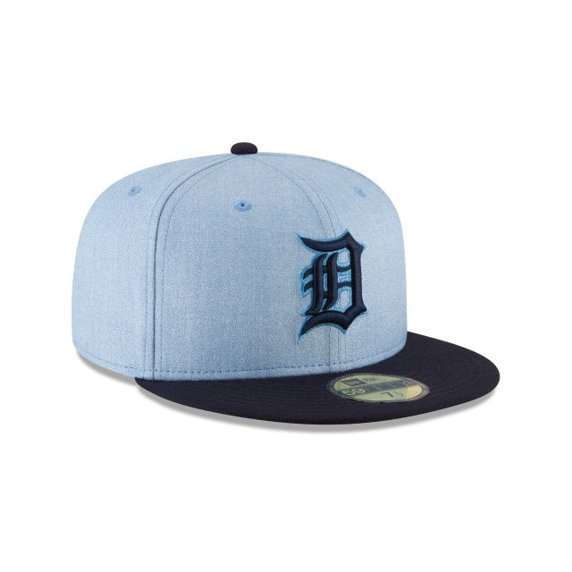 Detroit Tigers Father´s Day 18 59Fifty Cerrada Vista derecha tres cuartos