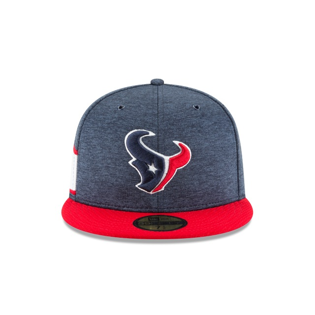 Houston Texans Nfl Sideline Defend 2018  59fifty Cerrada | Houston Texans Caps | New Era Cap