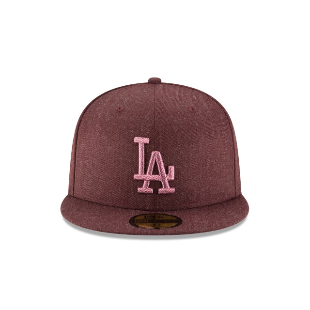 Los Angeles Dodgers Twisted Frame  59Fifty Cerrada Vista frontal