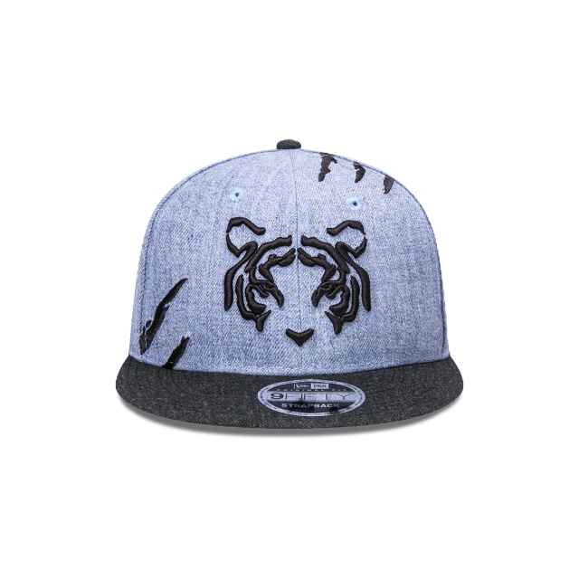 Tigres de la UANL Futbol Mexicano  9Fifty OF Snapback Vista frontal