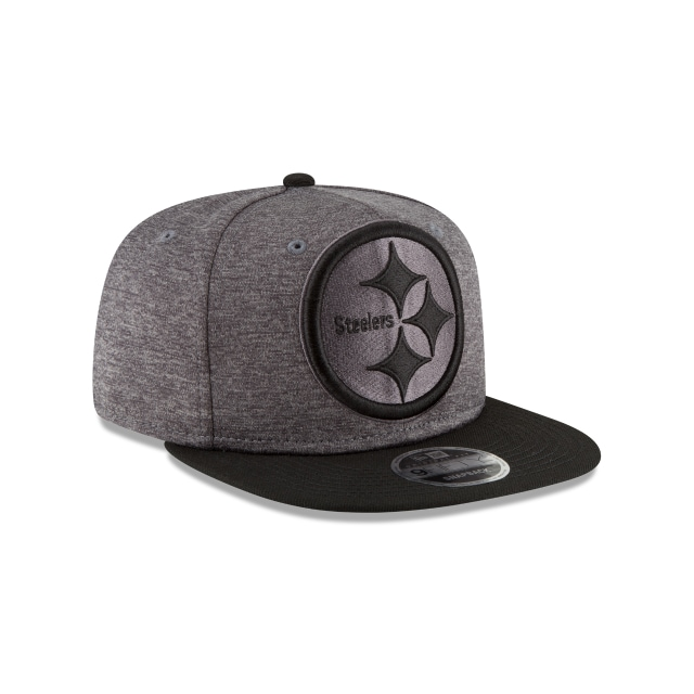 Pittsburgh Steelers Heather Huge Snap  9Fifty OF Snapback Vista derecha tres cuartos