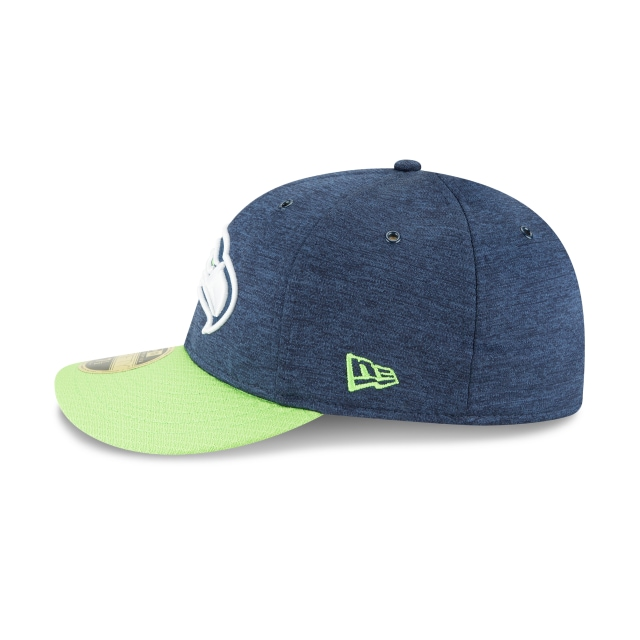Seattle Seahawks NFL Sideline Defend 2018 59Fifty LP Cerrada Vista izquierda
