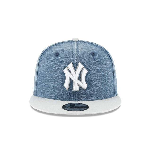 New York Yankees Rugged Canvan 9Fifty Snapback Vista frontal