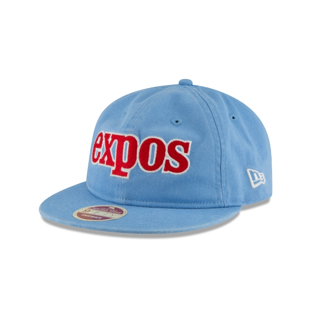 Montreal Expos Injection Pack All-Star  9Fifty LP Snapback Vista izquierda tres cuartos