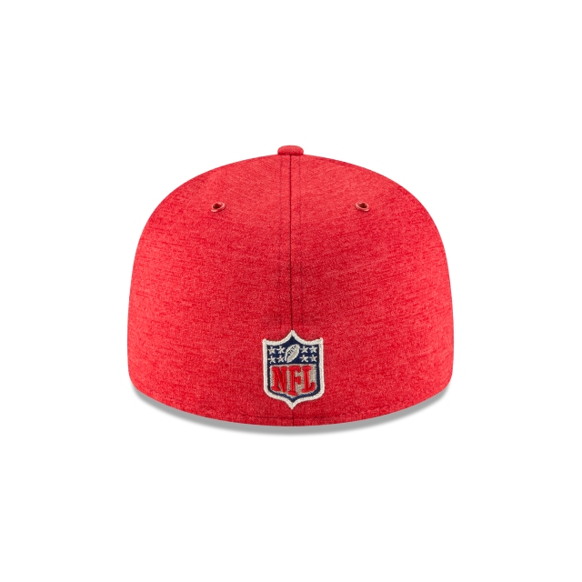 San Francisco 49ers Nfl Sideline Defend 2018 59fifty Lp Cerrada | San Francisco 49ers Caps | New Era Cap