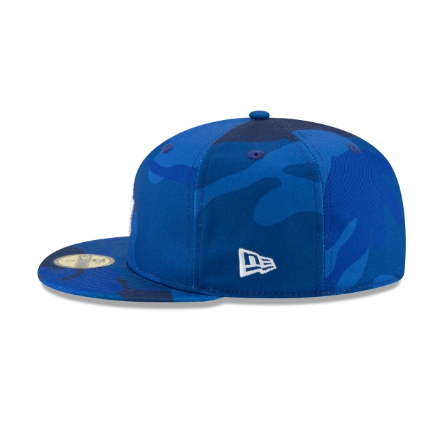 Los Angeles Dodgers Essential Camo 59fifty Cerrada | Los Angeles Dodgers Caps | New Era Cap