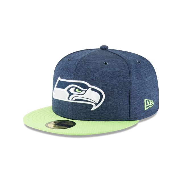 Seattle Seahawks Nfl Sideline Defend 2018  59fifty Cerrada | Seattle Seahawks Caps | New Era Cap