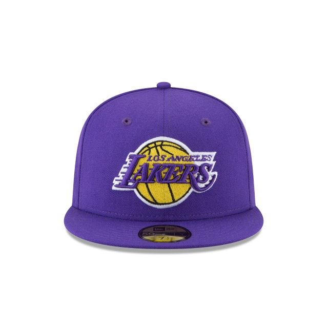 Los Angeles Lakers Wool Standard 59Fifty Cerrada Vista frontal