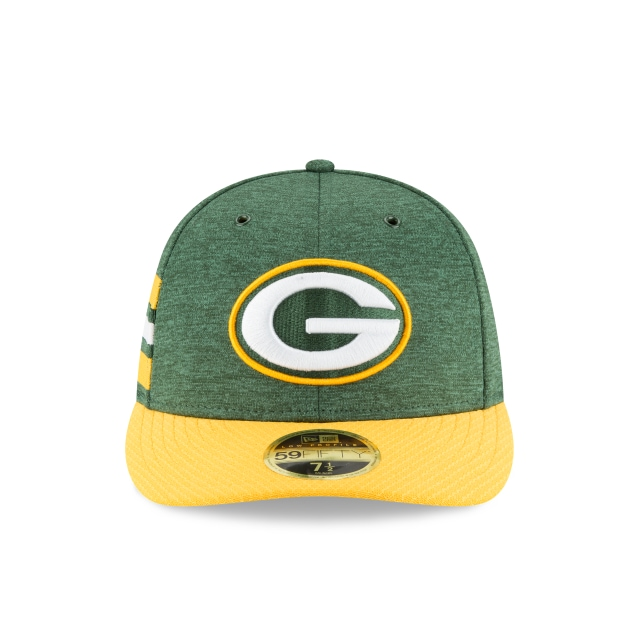 Green Bay Packers Nfl Sideline Defend 2018 59fifty Lp Cerrada | Green Bay Packers Caps | New Era Cap