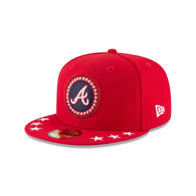 Atlanta Braves MLB All-Star Game 2018  59Fifty Cerrada Vista izquierda tres cuartos