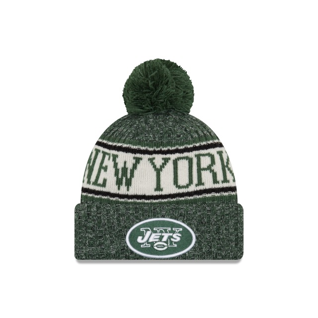 New York Jets Nfl Cold Weather 2018  Knit | New York Jets Caps | New Era Cap