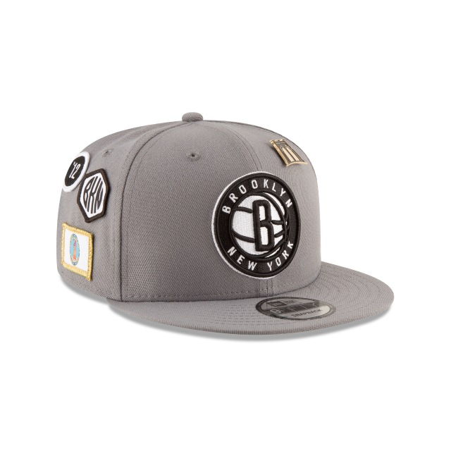 Brooklyn Nets NBA Draft 2018 9Fifty Snapback Vista derecha tres cuartos