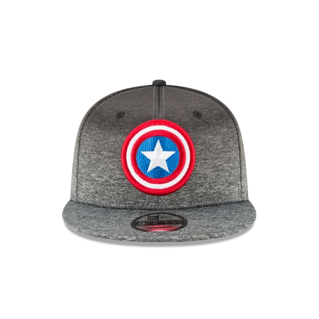 Captain America Shadow Fade 9Fifty Snapback Vista frontal