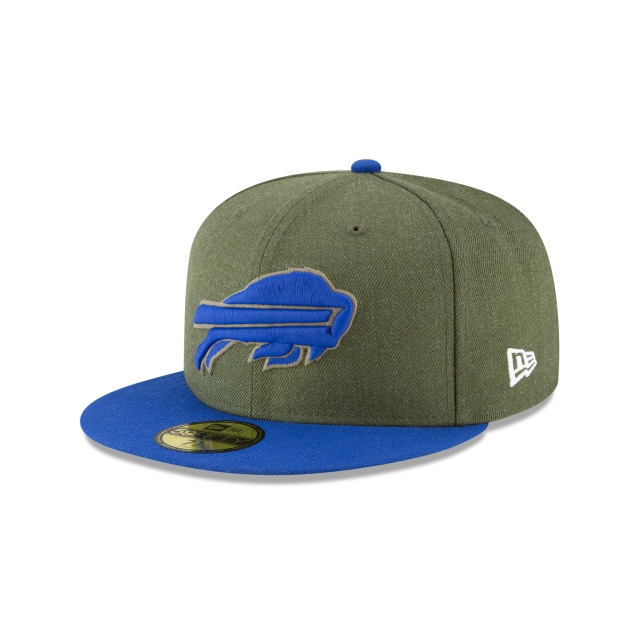 Buffalo Bills Nfl Salute To Service 2018  59fifty Cerrada | New Era Cap