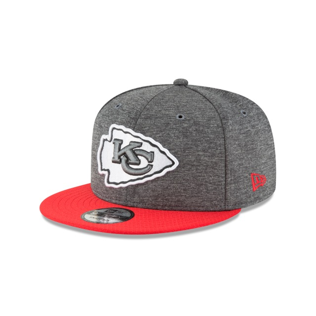 Kansas City Chiefs Nfl Sideline Defend 2018 9fifty Snapback | New Era Cap