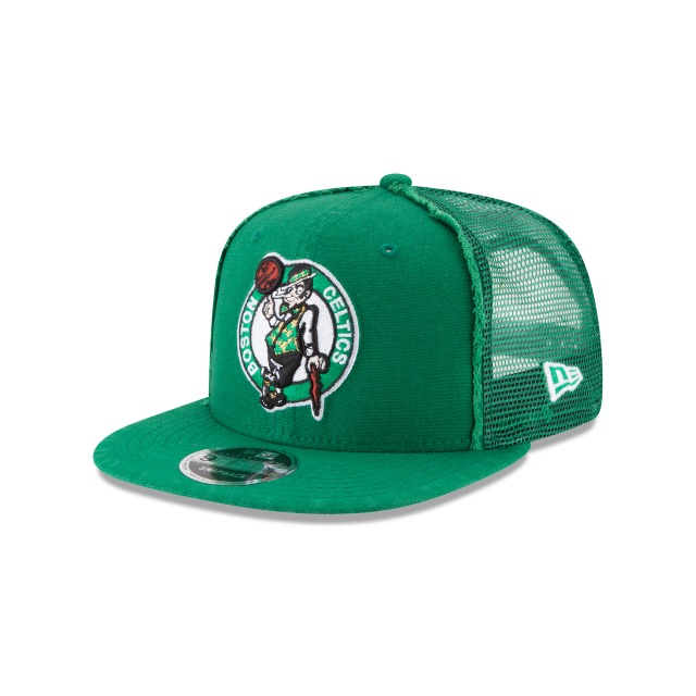 Boston Celtics Trucker Worn 9fifty Of Snapback | New Era Cap
