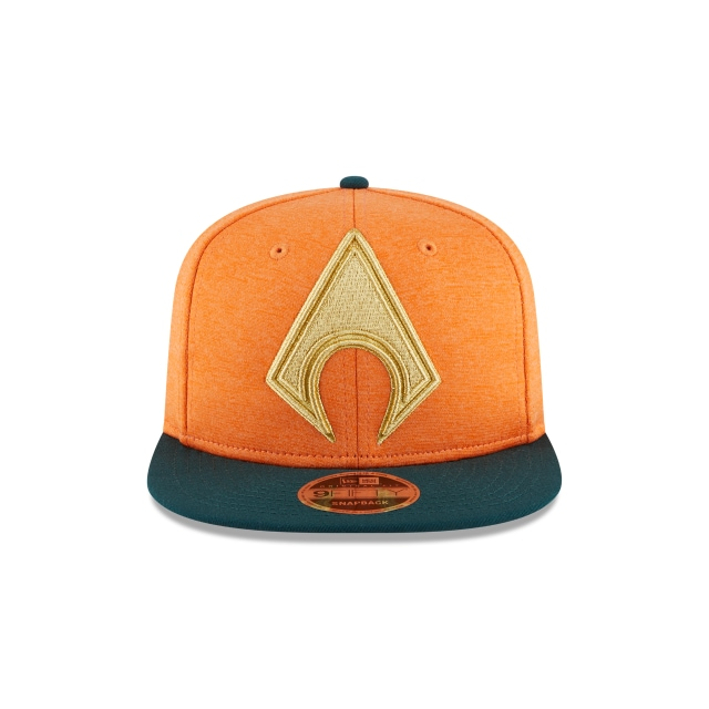 Aquaman Heather Huge Snap  9Fifty OF Snapback Vista frontal