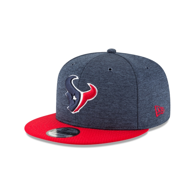 Houston Texans NFL Sideline Defend 2018 9Fifty Snapback 3 quarter left view