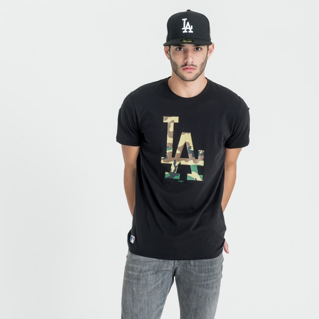 Los Angeles Dodgers Infill Logo Playera Manga Corta