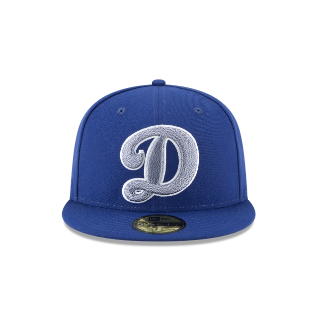 Los Angeles Dodgers Squad Twist 59Fifty Cerrada Vista frontal