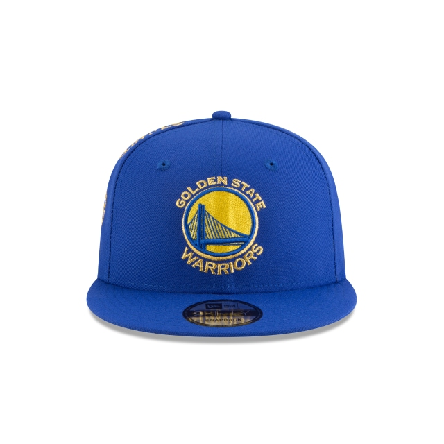 Golden State Warriors Tribute Flip  9Fifty Snapback Vista frontal