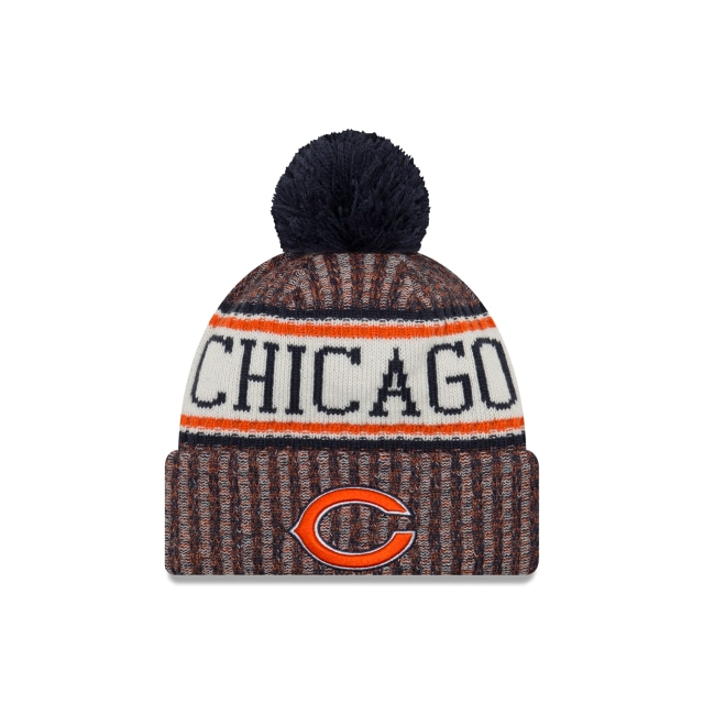 Chicago Bears NFL Cold Weather 2018  Knit Vista frontal