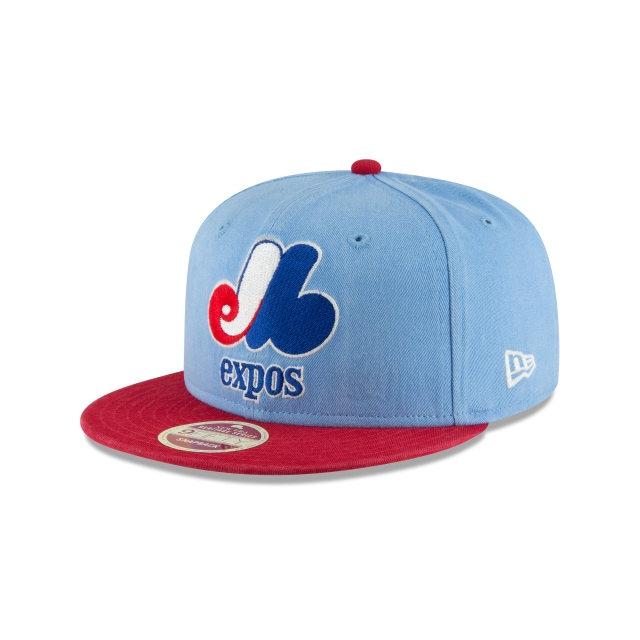 Montreal Expos Injection Pack All-Star  9Fifty Snapback Vista izquierda tres cuartos