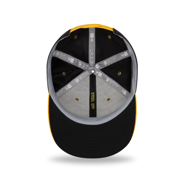 Pittsburgh Steelers Nfl Sideline Defend 2018 9fifty Snapback | Pittsburgh Steelers Caps | New Era Cap