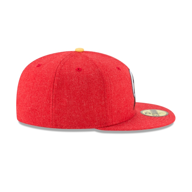 Flash Heather Hype Fit  59Fifty Cerrada Vista derecha