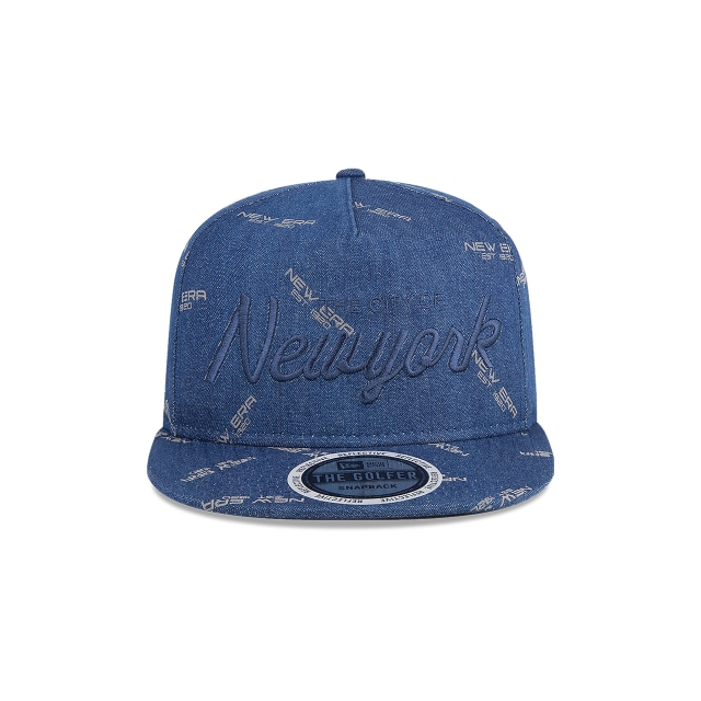 New Era The Golfer Denim Vista frontal