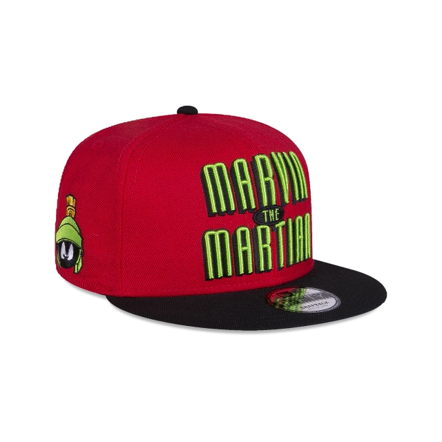 Marvin The Martian Looney Tunes  9Fifty Snapback Vista derecha tres cuartos