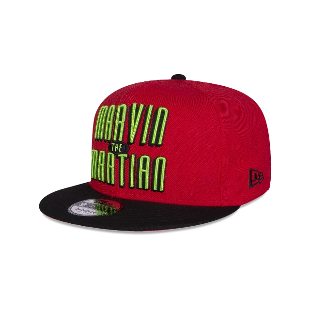 Marvin The Martian Looney Tunes  9Fifty Snapback Vista izquierda tres cuartos