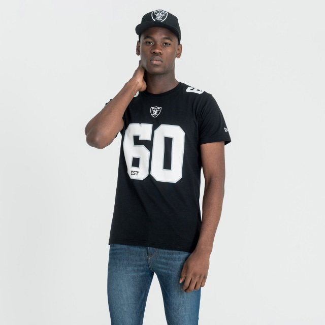 Oakland Raiders Dryera Playera Manga Corta