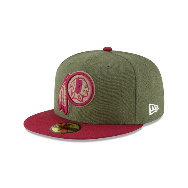 Washington Redskins Nfl Salute To Service 2018  59fifty Cerrada | New Era Cap
