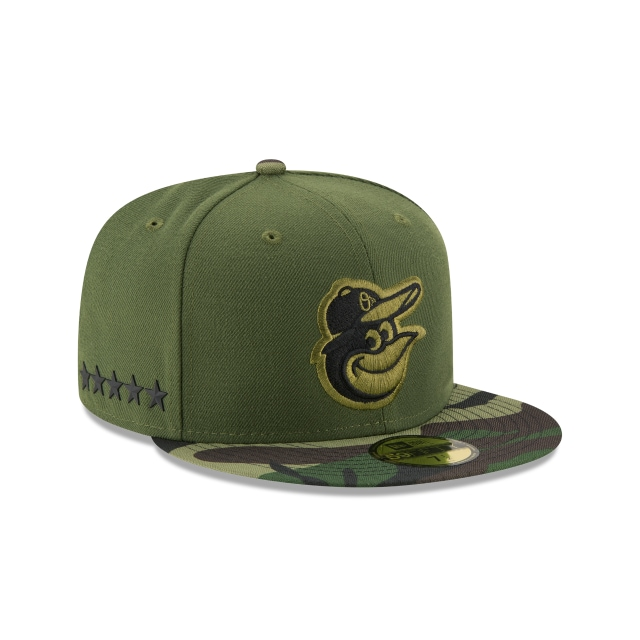 Baltimore Orioles Memorial Day 2017  59Fifty Cerrada Vista derecha tres cuartos