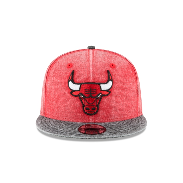 Chicago Bulls Rugged Canvan 9Fifty Snapback Vista frontal