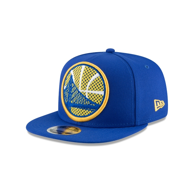 Golden State Warriors Meshed Mix  9Fifty OF Snapback Vista izquierda tres cuartos