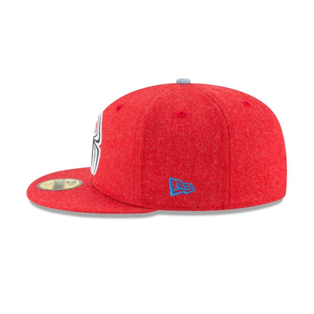 Spiderman Heather Hype Fit  59Fifty Cerrada Vista izquierda