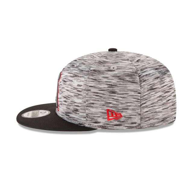 Anaheim Angels Shadow Faded  9Fifty OF Snapback Vista izquierda