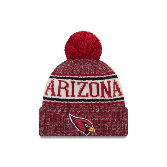 Arizona Cardinals Nfl Cold Weather 2018  Knit | Arizona Cardinals Caps | New Era Cap