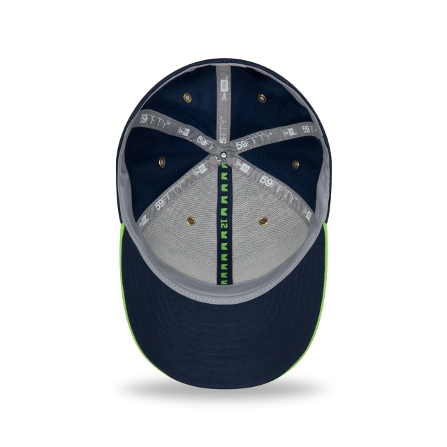 Seattle Seahawks NFL Sideline Defend 2018 59Fifty LP Cerrada