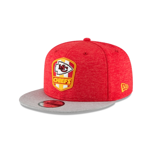 Kansas City Chiefs Nfl Sideline Attack 9fifty Snapback | New Era Cap