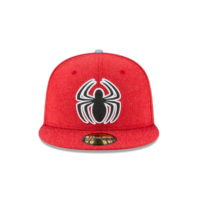 Spiderman Heather Hype Fit  59Fifty Cerrada Vista frontal